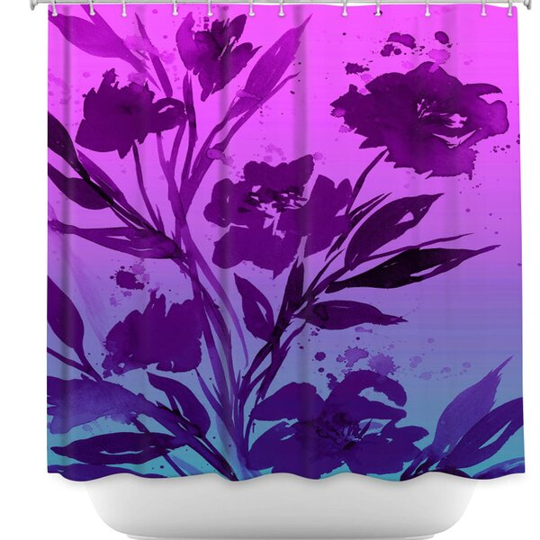 Pocketful Posies Shower Curtain by DiaNoche Designs
