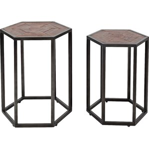 Vsevidof 2 Piece Nesting Tables by Trent Austin Design