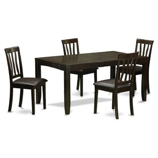 Lockmoor 5 Piece Extendable Dining Set By Red Barrel Studio