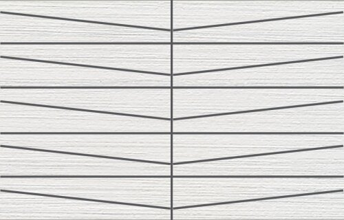 Bamboo Oblong 12 x 24 Porcelain Field Tile in Creme Linen by Travis Tile Sales