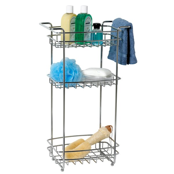 12.5 W x 22 H Bathroom Shelf by Zenith Products