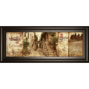 Tuscany by Keith Mallet Framed Graphic Art by Classy Art Wholesalers
