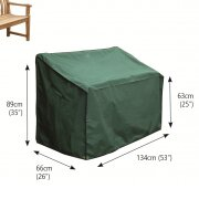 Premier 2-Seater Bench Cover by Bosmere