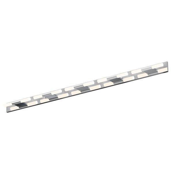 Crystal Rods 10-Light LED Bath Bar by Sonneman