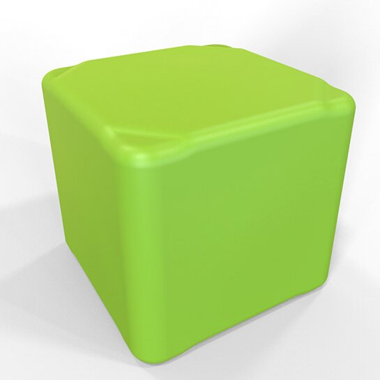 "Cube 13.5"" H Firm Ottoman by Tenjam"
