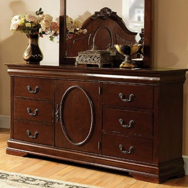 Babineaux 6 Drawer Combo Dresser by Astoria Grand