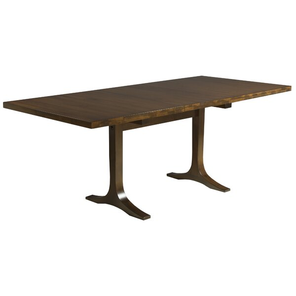 Paxton Extendable Solid Wood Dining Table by Saloom Furniture Saloom Furniture