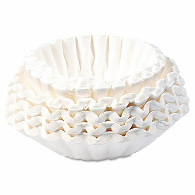 Commercial Coffee Filters, 1000 Filters/Carton by Bunn