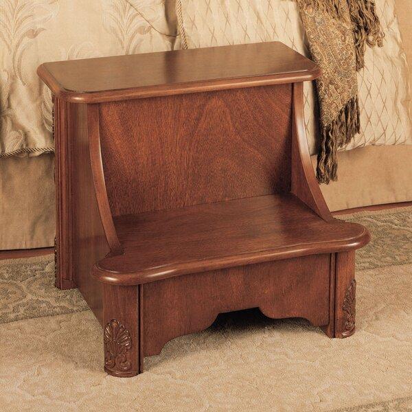 Woodbury Mahogany 2-Step Manufactured Wood Bed Step Stool with 200 lb. Load Capacity & Step Stools Youu0027ll Love | Wayfair islam-shia.org