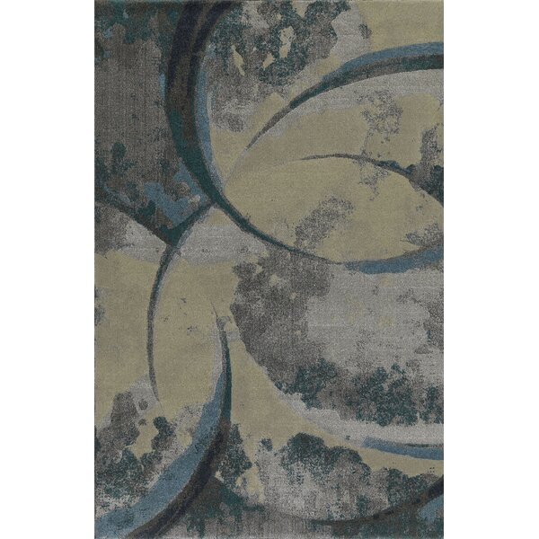 Upton Blue/Beige Area Rug by Dalyn Rug Co.