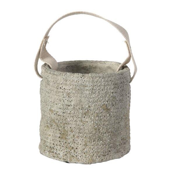 Cement Pot Planter by Established 98
