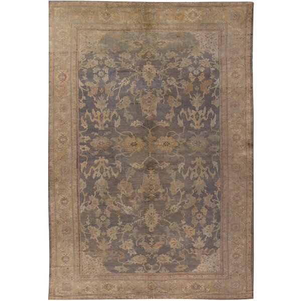 Antique Sultanabad Rug Carpet, circa 1890 11' x 16'3