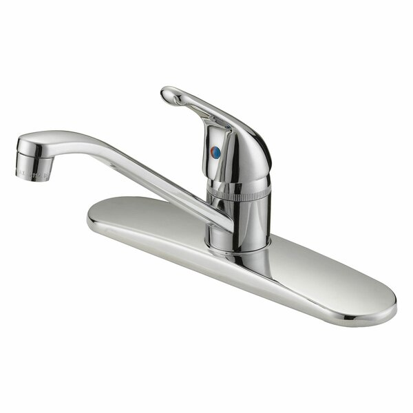 Single Lever Handle Kitchen Faucet by LessCare