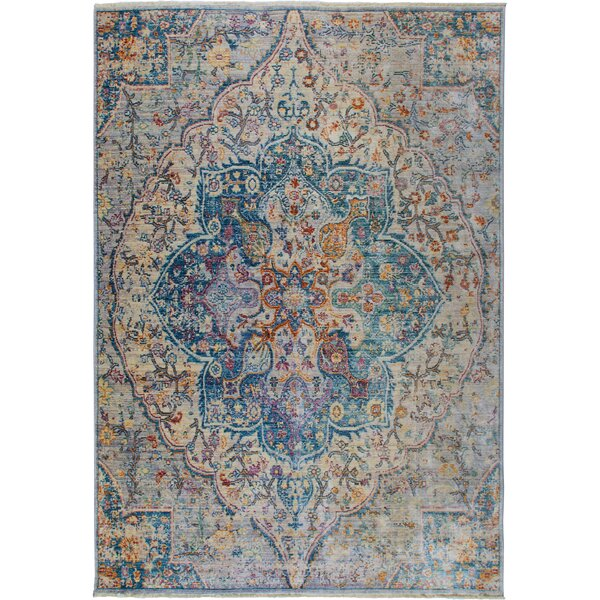 Artisan Blue/Gray Area Rug by Nicole Miller