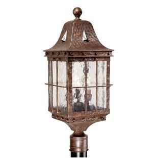 Where buy  Brough Outdoor 3-Light Lantern Head By Fleur De Lis Living