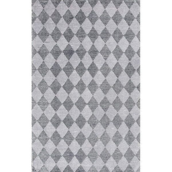 Symphony Hand-Tufted Silver/Gray Area Rug by Dynamic Rugs