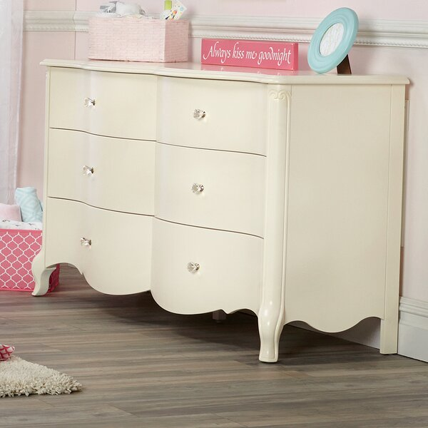 Julia 6 Drawer Double Dresser by Suite Bebe
