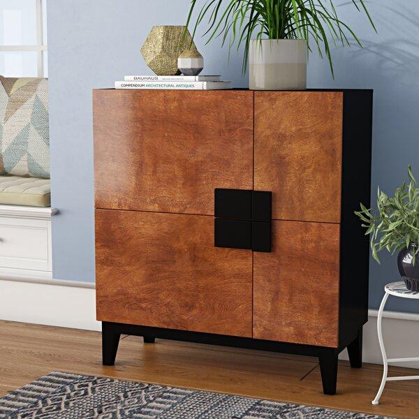 Menke 4 Door Accent Cabinet by Wrought Studio