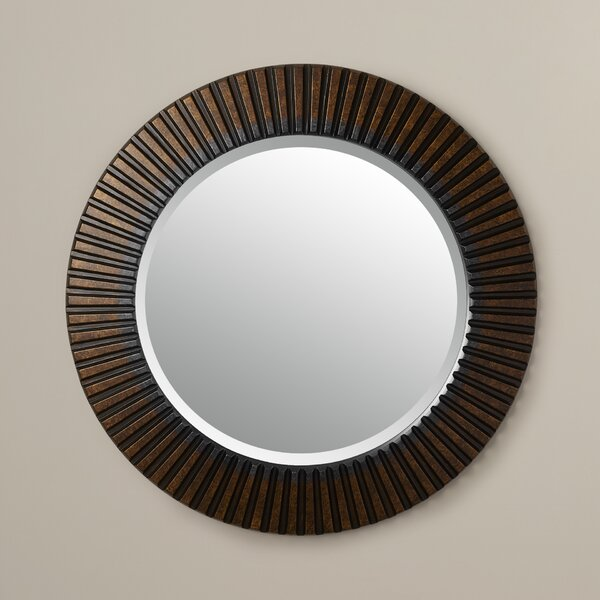 Round Bathroom/Vanity Mirror by World Menagerie