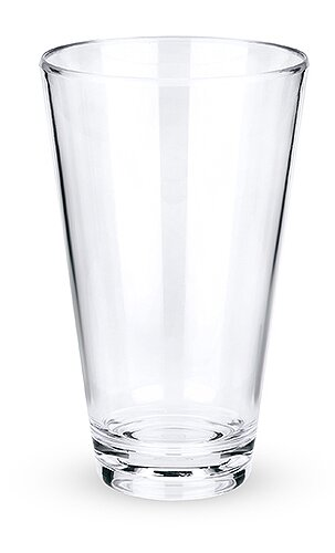 Polycarbonate 23 oz. Plastic Pint Glass by True Brands