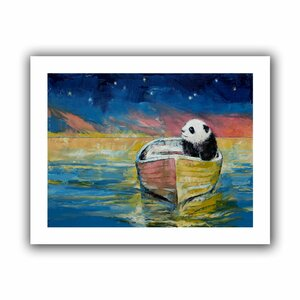 Stargazer' by Michael Creese Painting Print on Rolled Canvas by ArtWall