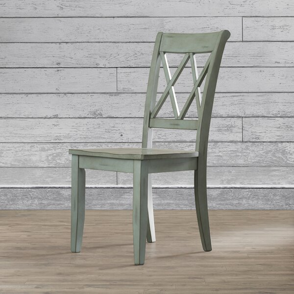 Castle Pines Solid Wood Dining Chair (Set of 2) by Loon Peak