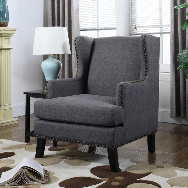 Kaleigh Wingback Chair by Alcott Hill