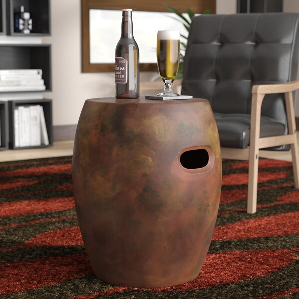 Salinas Clay Garden Stool by Wade Logan