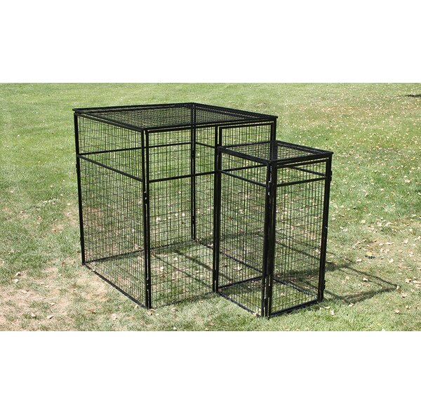 Double Door System Heavy Duty Kennel by K9 Kennel