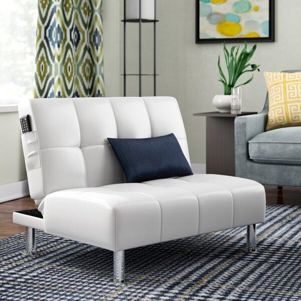 Capetillo Contemporary Convertible Chair by Ebern