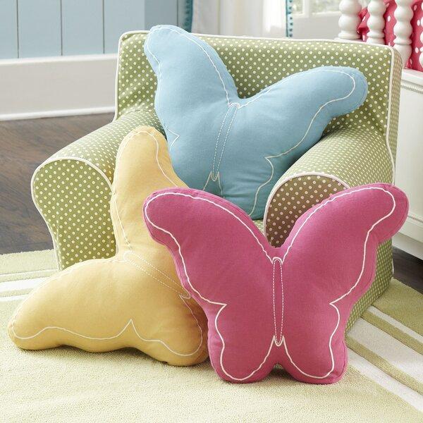 Butterfly Pillow by Birch Lane Kids™