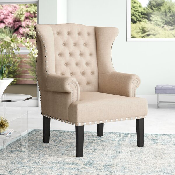 Kaczmarek Wingback Chair by Willa Arlo Interiors