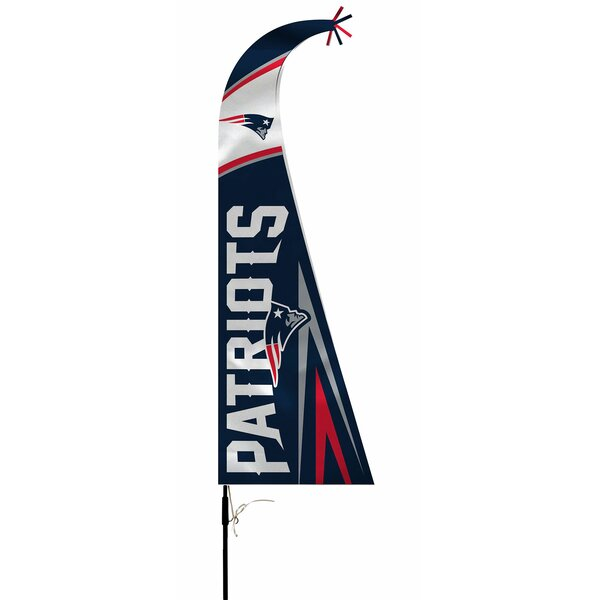 NFL Feather Flag with Pole and Spike by NeoPlex