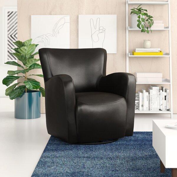 Makson Swivel 18.25-inch Armchair by Zipcode Design Zipcode Design