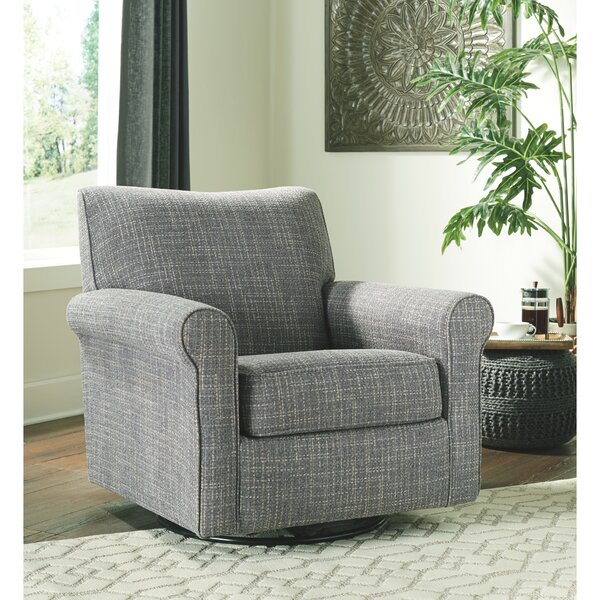 Amazonia Swivel Armchair by Gracie Oaks