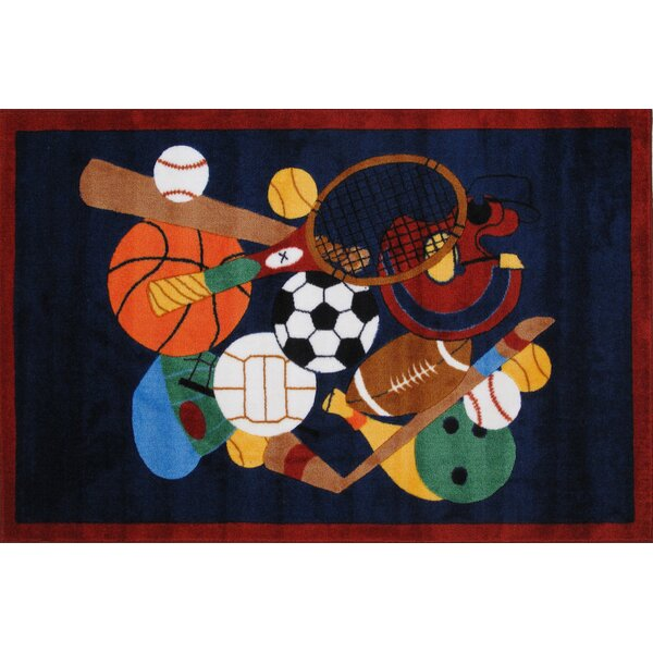 Supreme Sports America Kids Rug by Fun Rugs