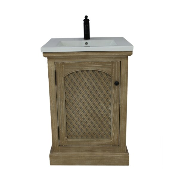 Occoquan 24 Single Bathroom Vanity Set by Bungalow RoseOccoquan 24 Single Bathroom Vanity Set by Bungalow Rose