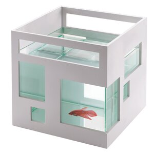 Fishhotel 1.8 Gallon Aquarium Bowl