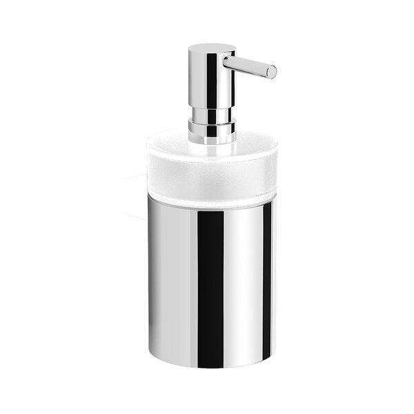 Correa Round Modern Soap Dispenser by Orren Ellis