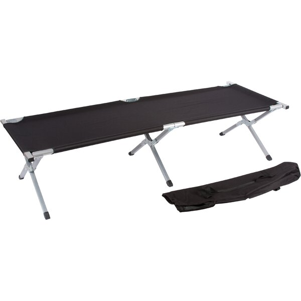 Portable Folding Camping Cot by Trademark Innovati