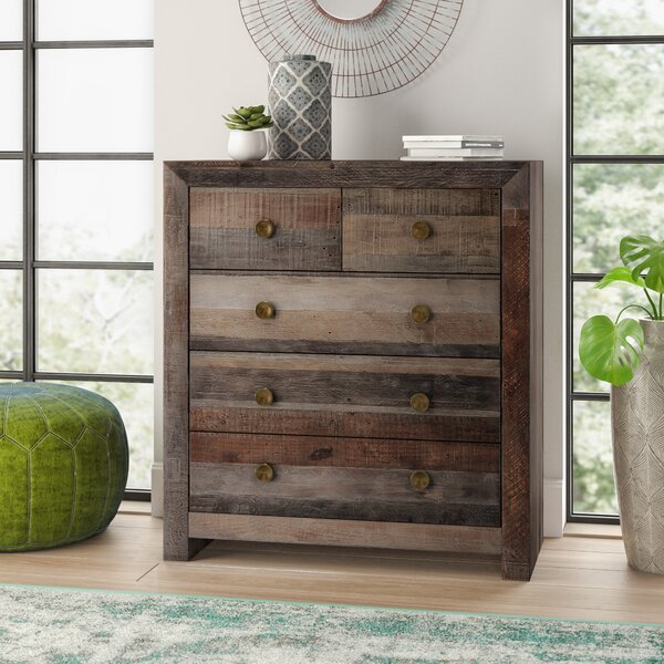 Abbey 5 Drawer Chest by Mistana