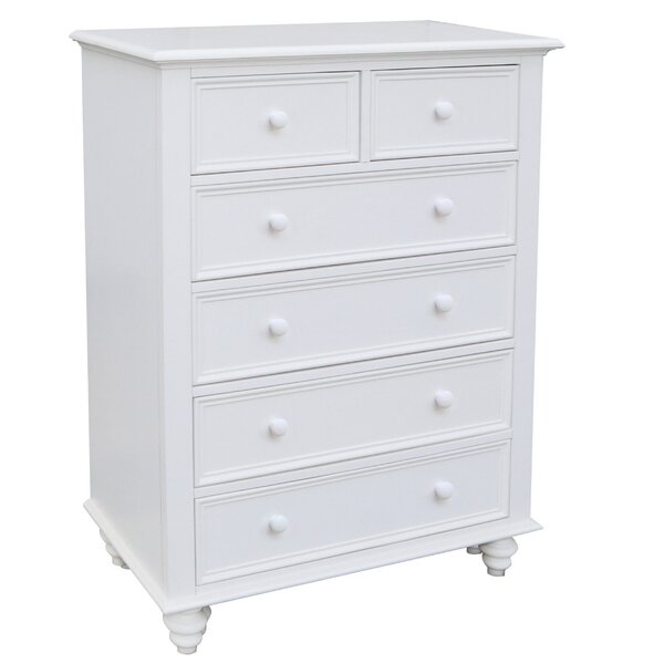 Emelia 6 Drawer Chest by Longshore Tides