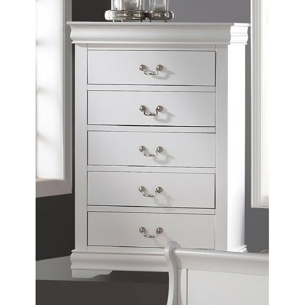 Fjeldheim 5 Drawer Chest by Winston Porter