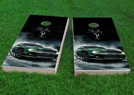 Shelby Cobra Cornhole Game (Set of 2) by Custom Cornhole Boards