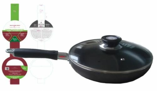 Non-Stick Frying Pan with Lid by Wee's Beyond