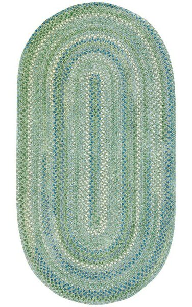 Celise Green Area Rug by Beachcrest Home