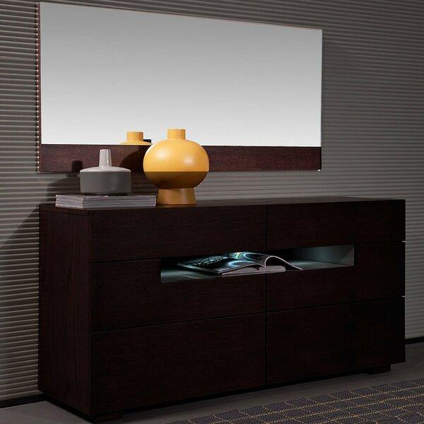 Camron 6 Drawer Dresser with Mirror by Orren Ellis