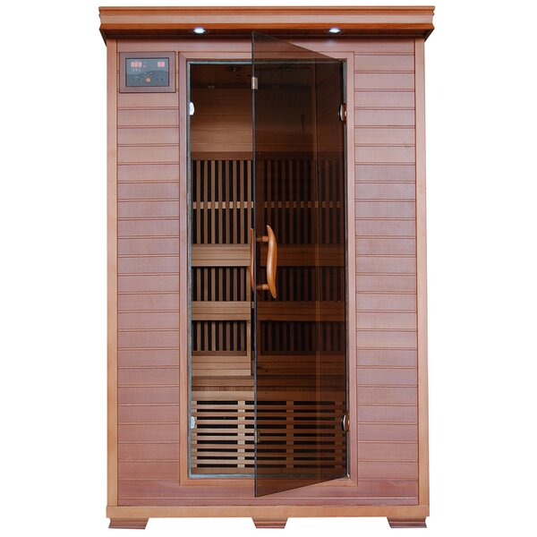 Pinnacle 2 Person FAR Infrared Sauna by Radiant Saunas