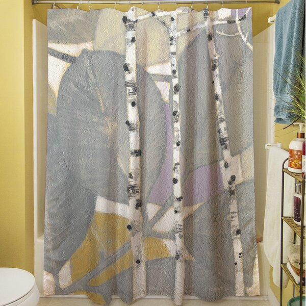 Birch Leaf I Shower Curtain by Manual Woodworkers & Weavers