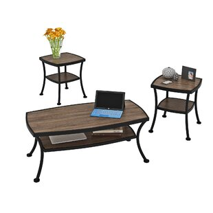 Price comparison Aisha 3 Piece Coffee Table Set By Millwood Pines